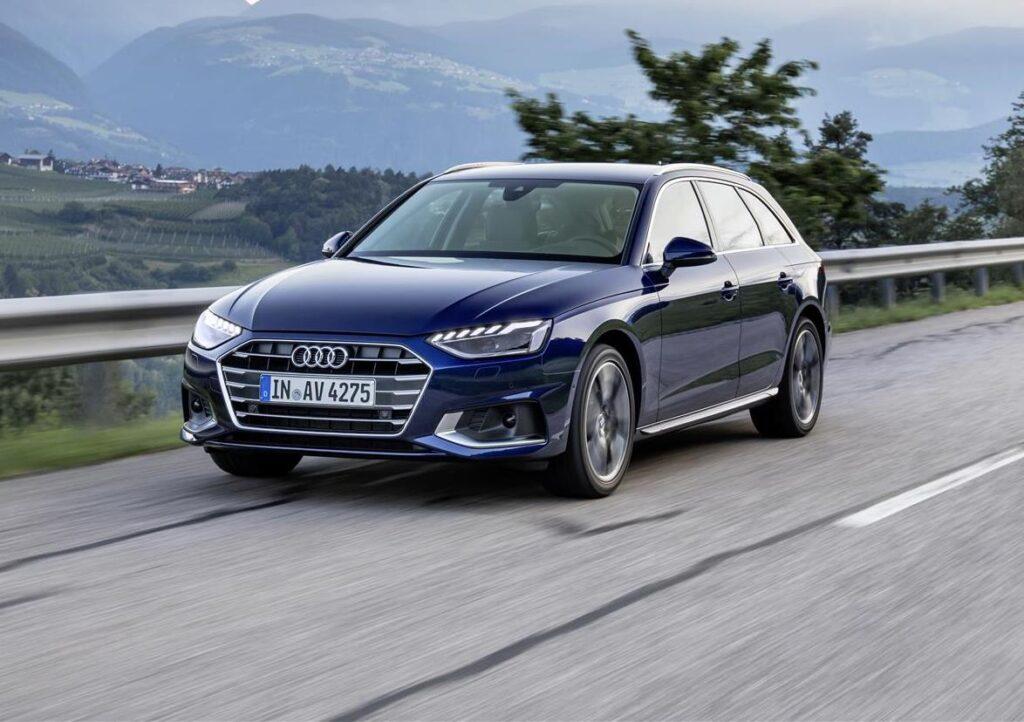 Audi A4, A5 e Q5: l'intera gamma è ora con tecnologia mild-hybrid