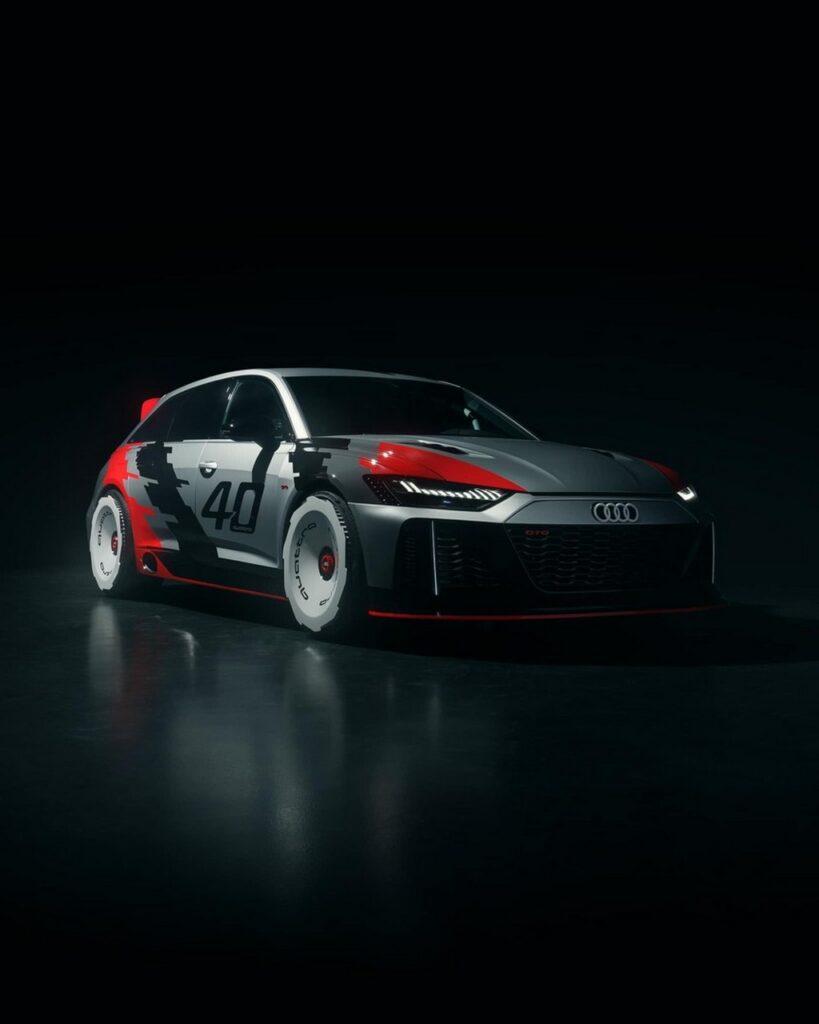 Audi RS6 GTO celebra i 40 anni della trazione integrale [FOTO E VIDEO]
