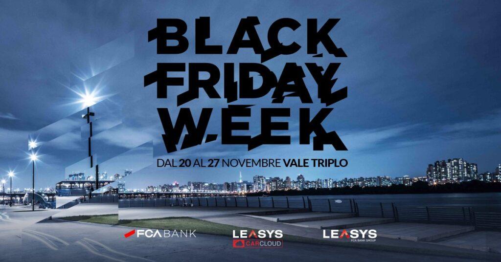 FCA Bank lancia tre offerte speciali per il Black Friday