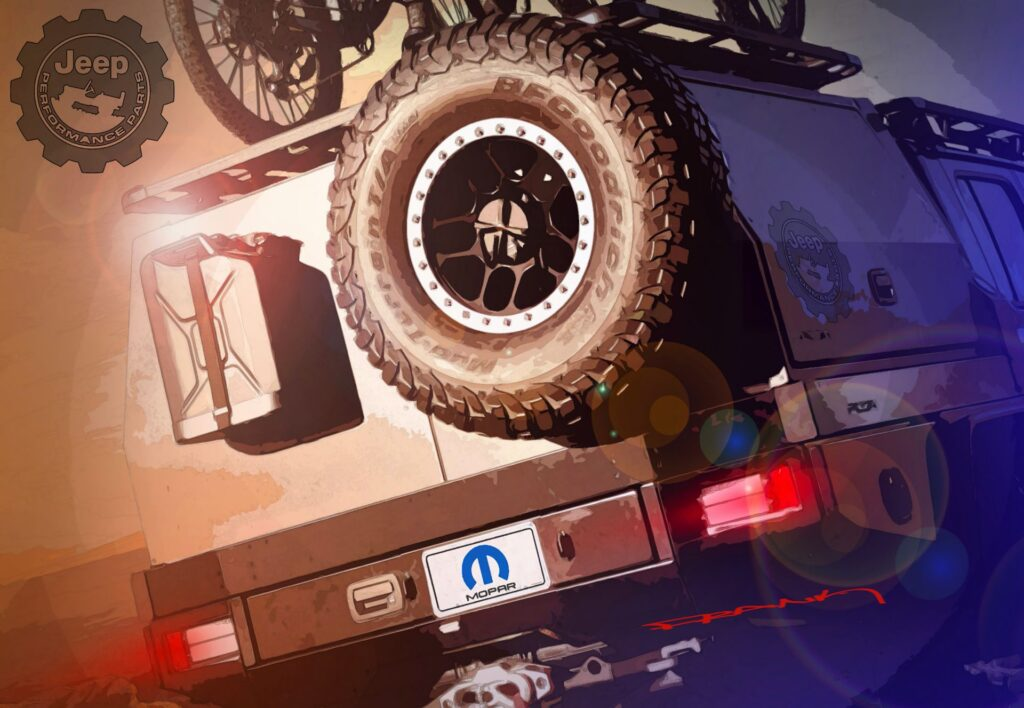 Jeep, nuovo concept su base Gladiator e personalizzato da Mopar [TEASER]