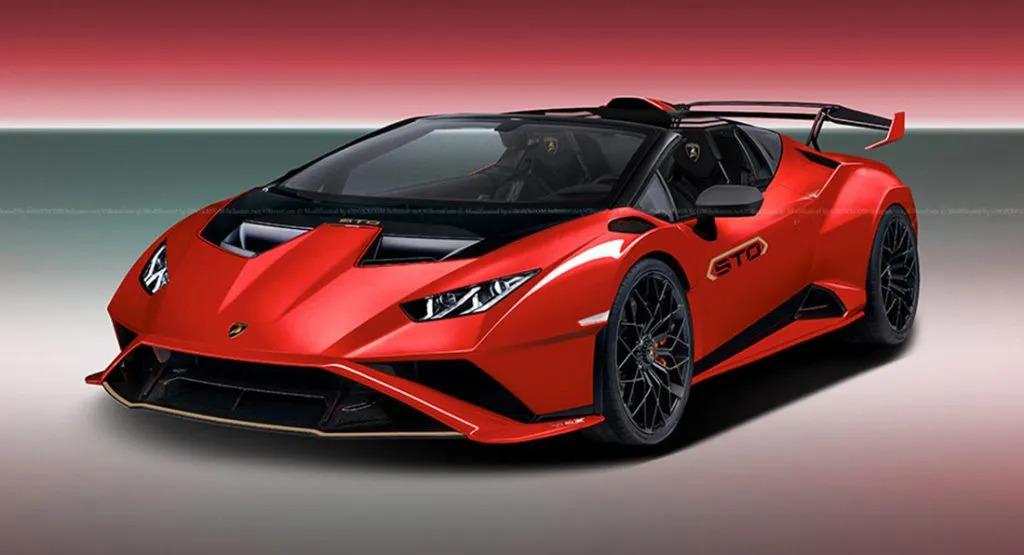 Lamborghini Huracan STO avrà la versione Spyder? Si, secondo Aksyonov Nikita