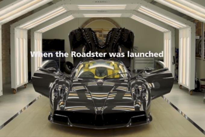 Pagani Huayra Roadster: terminata la produzione, consegnato l'ultimo dei 100 esemplari [VIDEO]