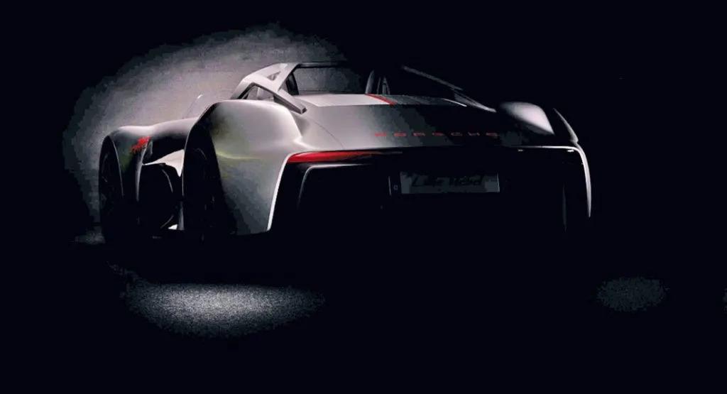 Porsche Speedster: il disegno ufficiale di Porsche Design Studio