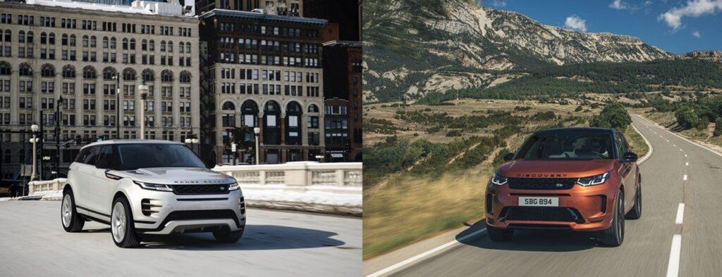 Range Rover Evoque e Land Rover Discovery Sport: si aggiornano per il 2021