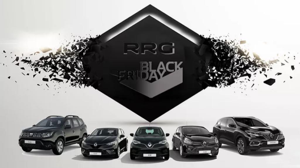 Renault festeggia il Black Friday con sconti su una serie di veicoli aziendali