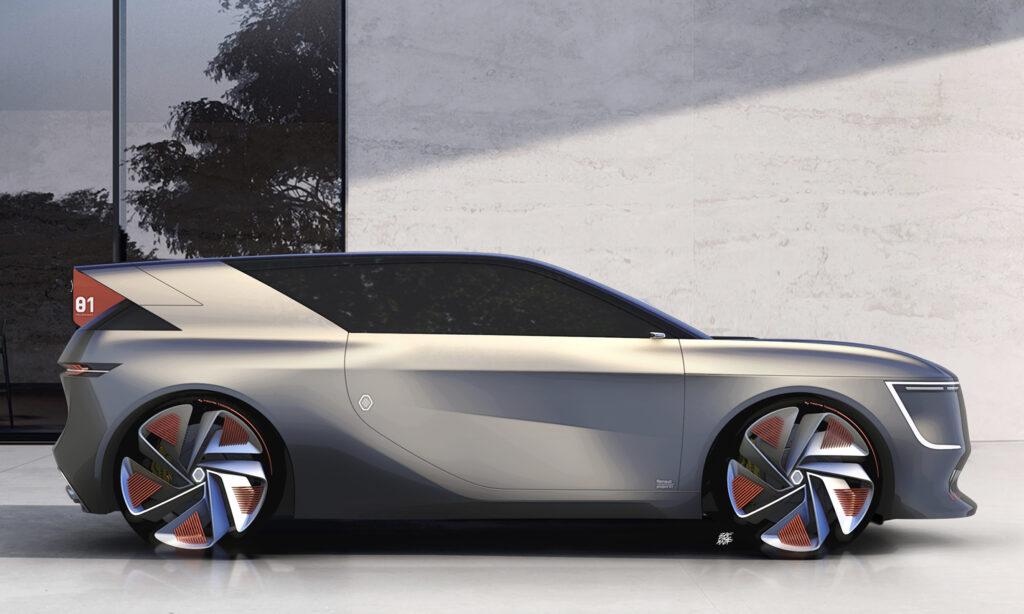 Renault Project 01 - Render