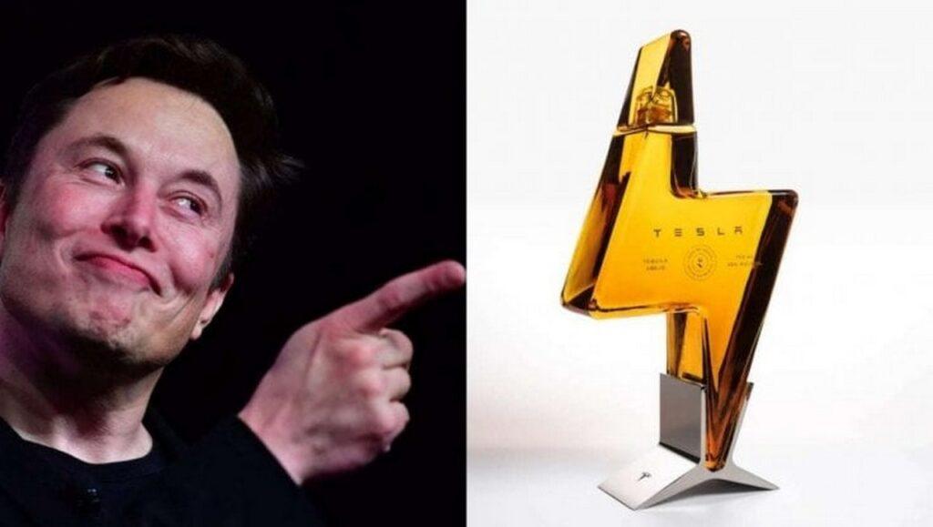 Tesla Tequila: il superalcolico è già sold out
