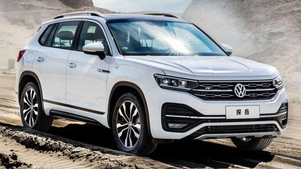 Volkswagen costruirà un SUV 7 posti per l'Europa basato sulla Tayron venduta in Cina