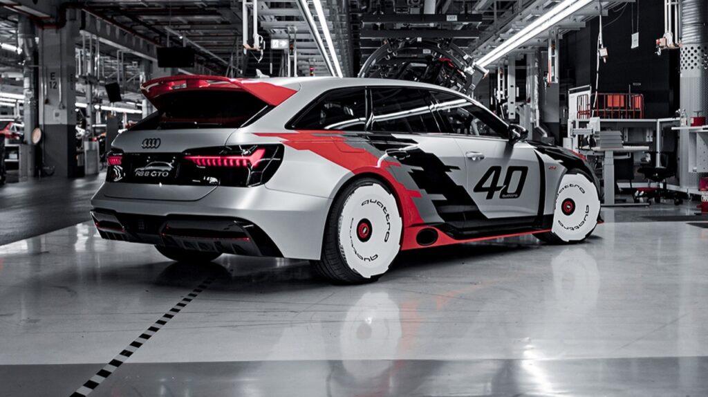 Audi RS6 GTO Concept: 720 CV per rendere omaggio alla 90 QUATTRO IMSA GTO [VIDEO ]