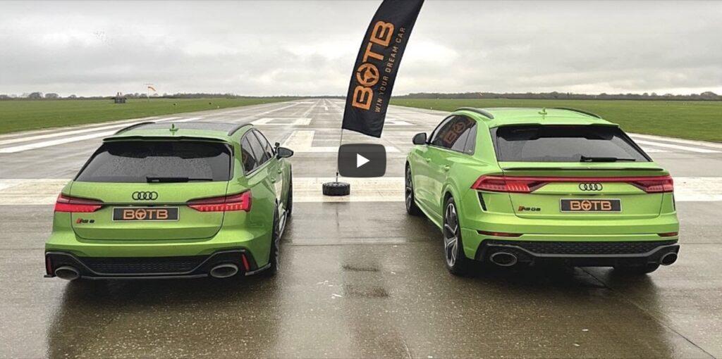 Audi RS6 2020 vs RSQ8: la Drag Race dei quattro anelli, chi vincerà? [VIDEO]