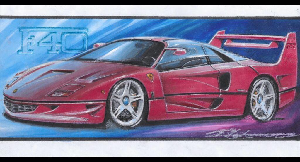 Ferrari F40: così viene immaginata la nuova versione da Frank Stephenson [RENDER]