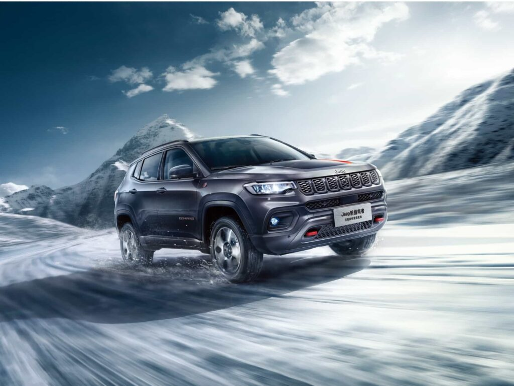 Jeep Compass 2021: svelato il restyling del SUV in Cina