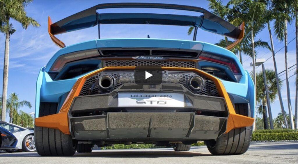 Lamborghini Huracan STO: il SOUND del primo esemplare avvistato su strada [VIDEO]