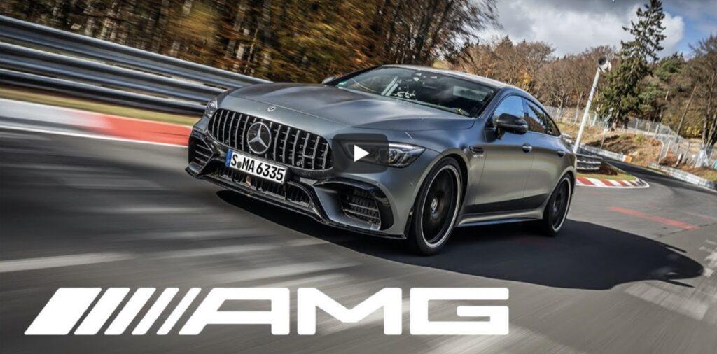 Mercedes-AMG GT 63S: batte la Panamera Turbo S e si aggiudica il record al Nurburgring [VIDEO]