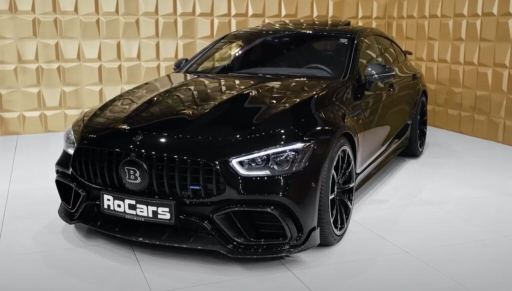 Mercedes GT 63S AMG: BRABUS la porta ad 800 CV, ma che SOUND [VIDEO]