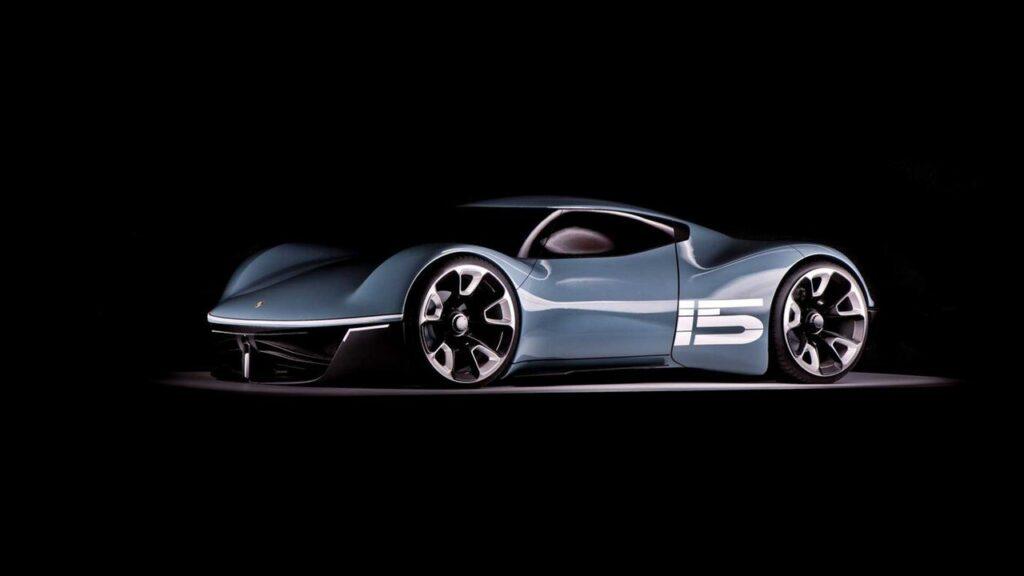 Porsche Vision 916: la coupé compatta elettrica mai nata [FOTO]