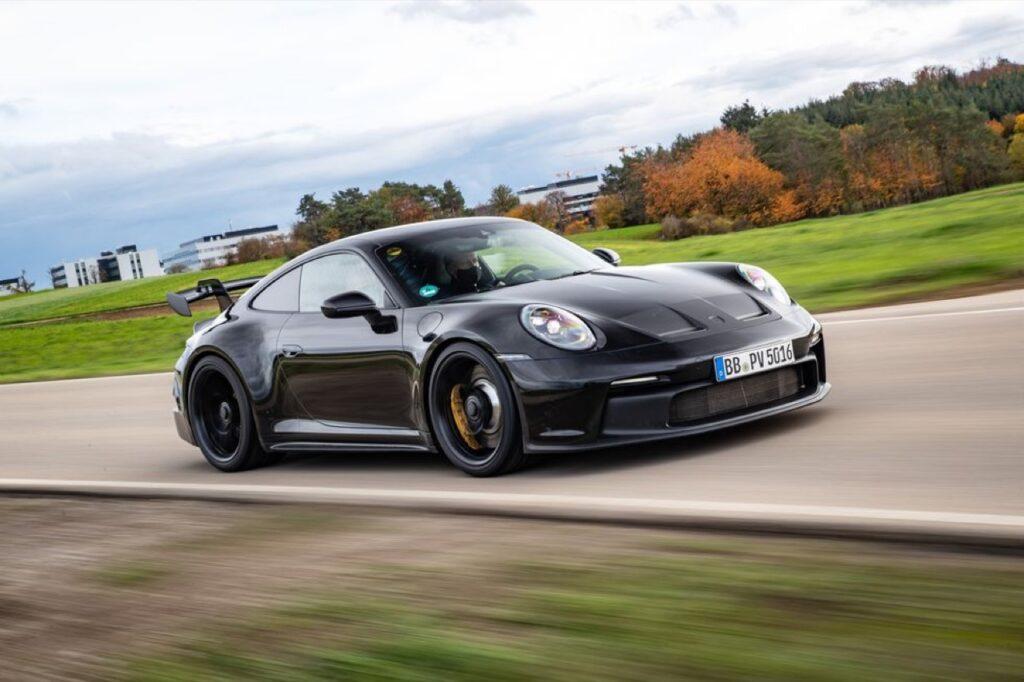 Porsche 911 GT3 2021 - Foto spia 02-11-2020