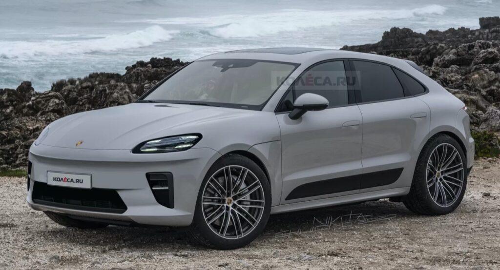 Porsche Macan EV 2022: così viene immaginato il prossimo SUV elettrico [RENDER]