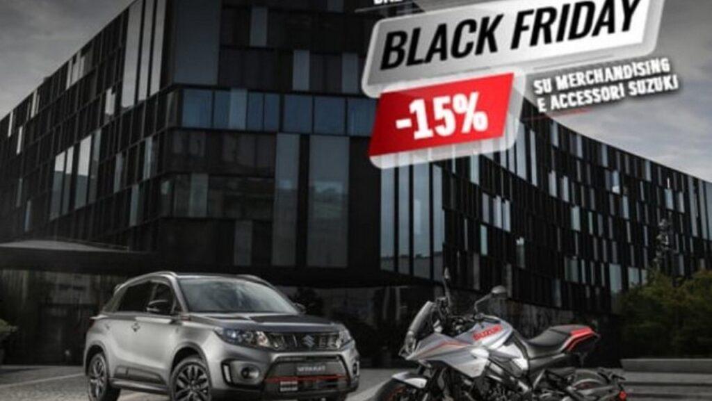Suzuki Black Friday: tanti sconti sull'e-commerce di Hamamatsu