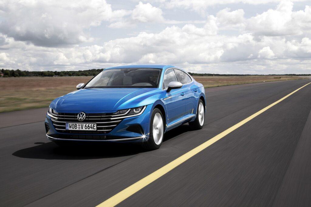 Volkswagen Arteon 2021: la versione ibrida plug-in arriva in Europa