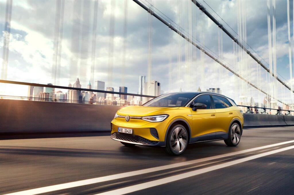 Volkswagen ID.4: un telaio dinamico e bilanciato