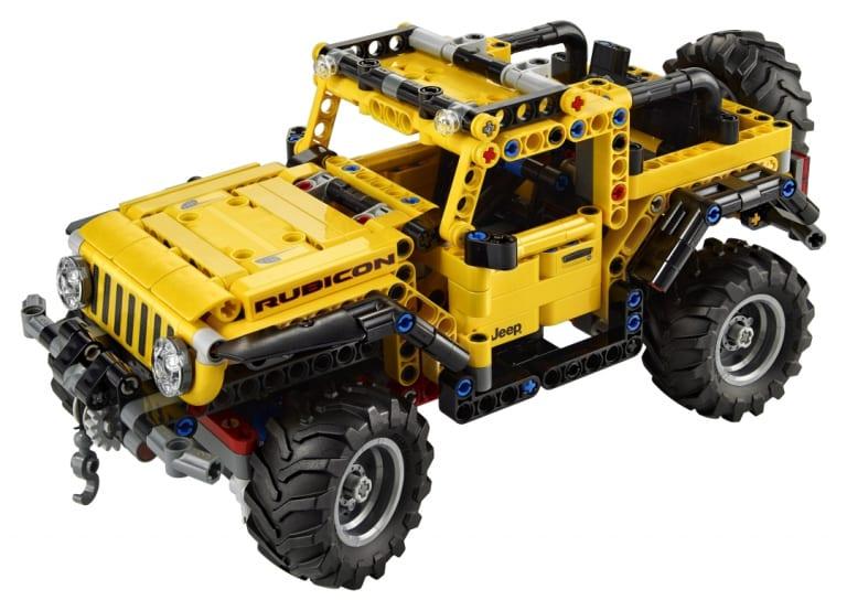 Jeep Wrangler Rubicon: un nuovo modello LEGO Technic sta arrivando!
