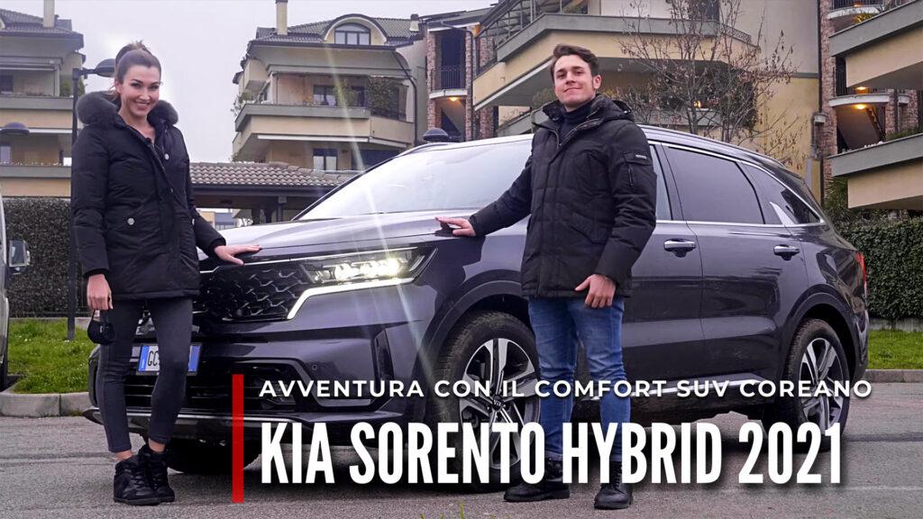 Kia Sorento Hybrid 2021: comfort SUV all'insegna dell'avventura [VIDEO #AUTOINCOPPIA]