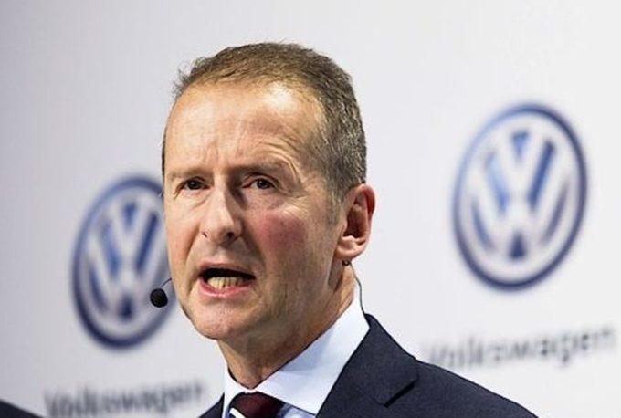 """Volkswagen, stampa tedesca: """"Il CEO Herbert Diess non riceverà la proroga del mandato"""""""