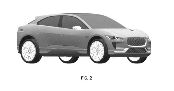 Jaguar I-Pace 2022 - Disegni brevetto