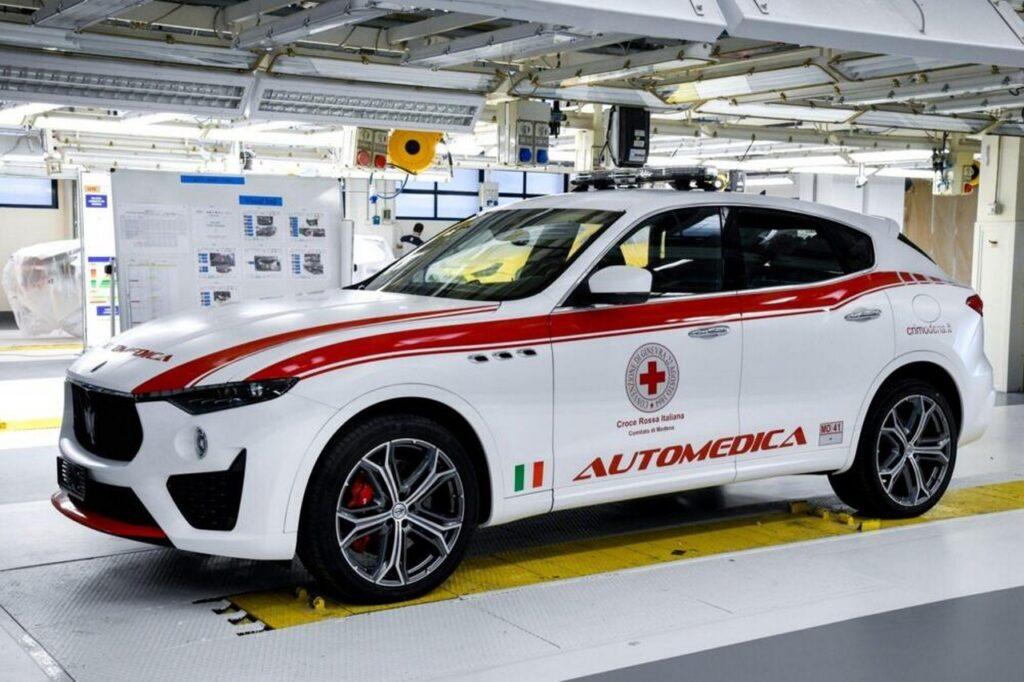 Maserati Levante Croce Rossa: una automedica per la CRI di Modena