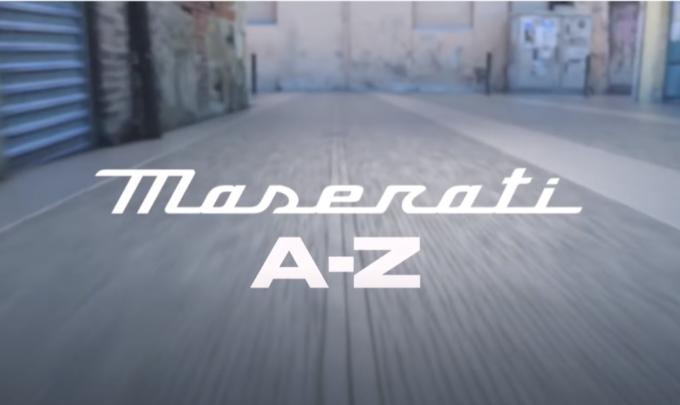 Maserati: viaggio dalla A alla Z per il 106° anniversario [VIDEO]