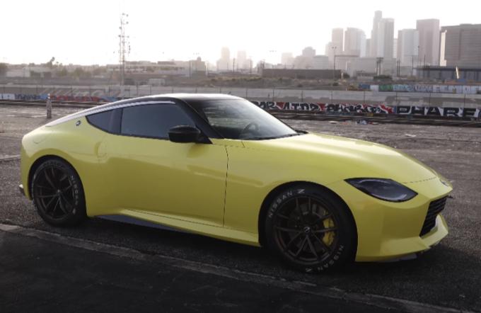 Nissan Z Proto approda negli Stati Uniti: servizio fotografico con Larry Chen [VIDEO]