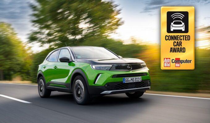 "Opel Mokka-e vince il ""Connected Car Award 2020"""