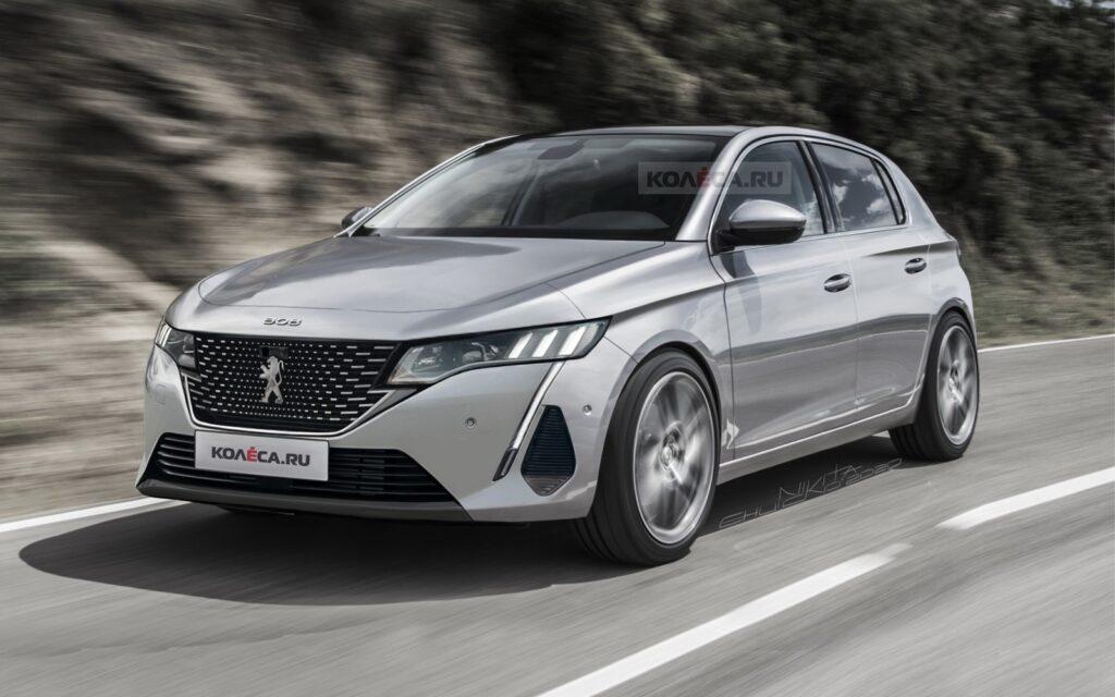 Peugeot 308 2021: un paio di proposte stilistiche ne ipotizzano il design [RENDER]