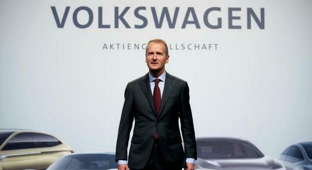 """Volkswagen Diess: """"Non riusciremo a rispettare i limiti emissioni UE 2020 e 2021"""""""