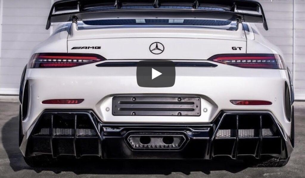 Mercedes AMG GT 63S: l'esemplare unico con un kit estetico in carbonio forgiato [VIDEO]