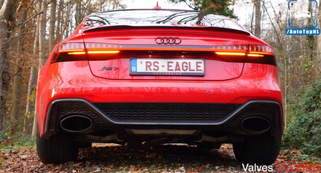 Audi RS7 Sportback 2021: oltre 750 CV e scarico diretto Milltek per farla diventare un missile [VIDEO]
