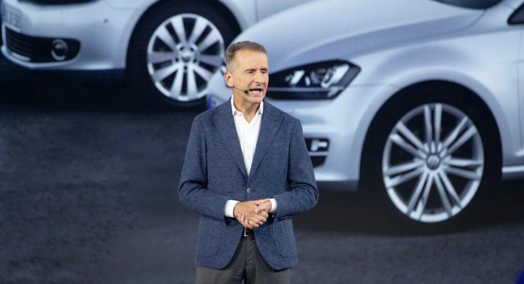 """Herbert Diess, CEO di Volkswagen: """"Apple tra i 'big' del futuro del mondo automobilistico"""""""