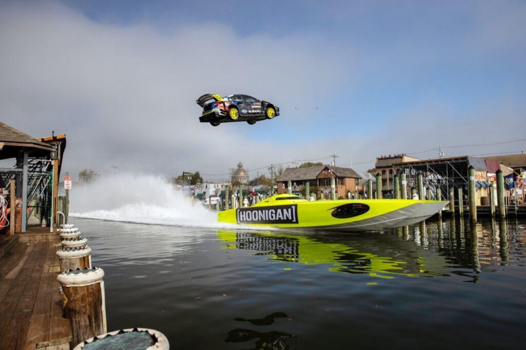 Gymkhana 2020: il ritorno della serie con Travis Pastrana e la Subaru WRX STI da 875 CV [VIDEO]