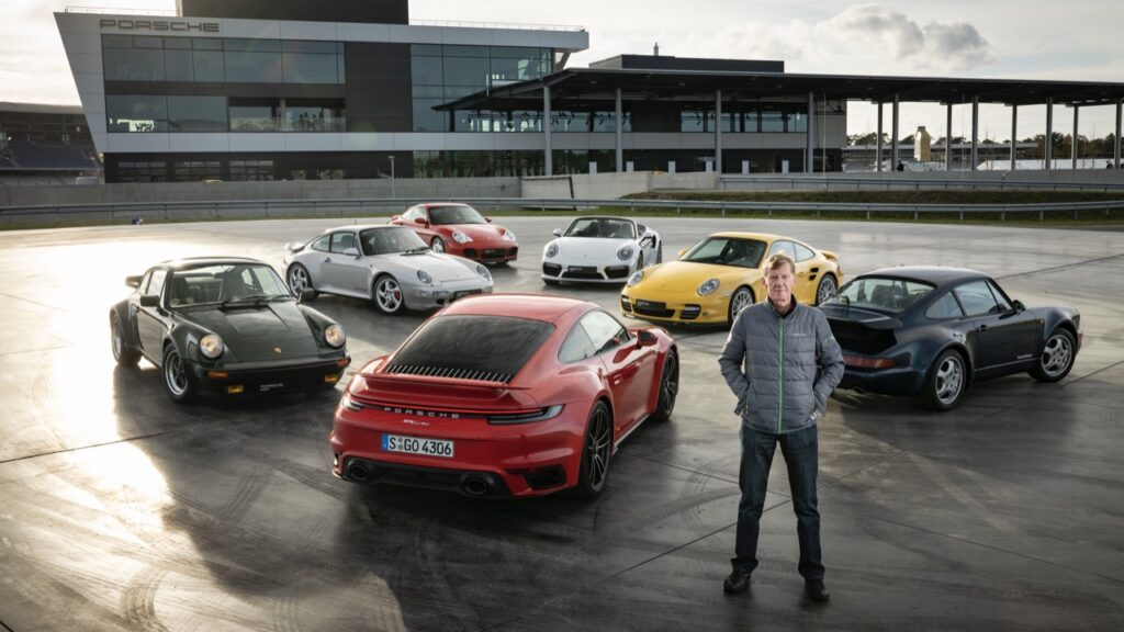 Porsche 911 Turbo: un'evoluzione nel tempo raccontata da Walter Röhrl [FOTO]