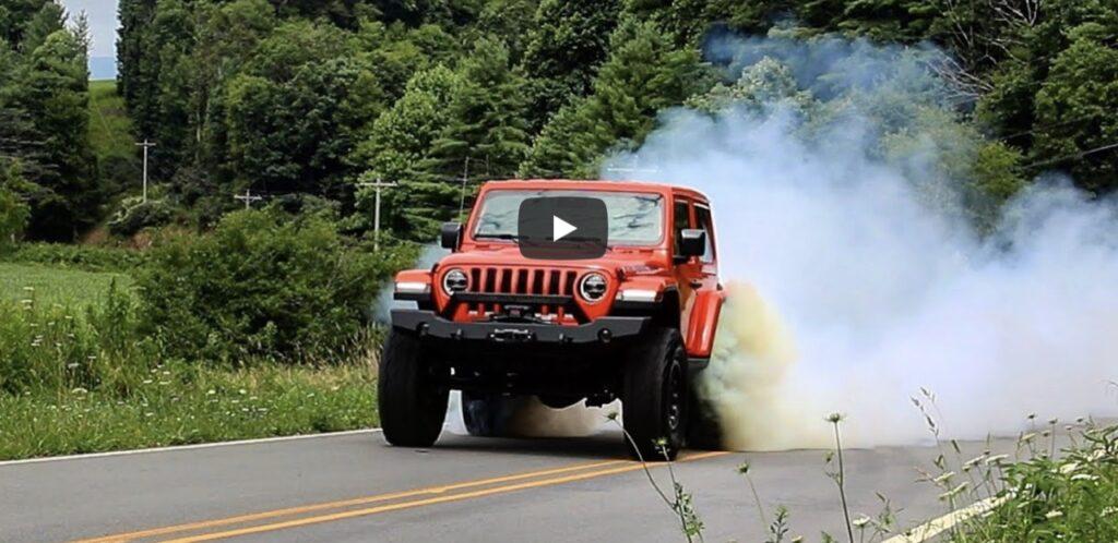 Jeep Wrangler: oltre 800 CV con il motore della Dodge Challenger Demon [VIDEO]