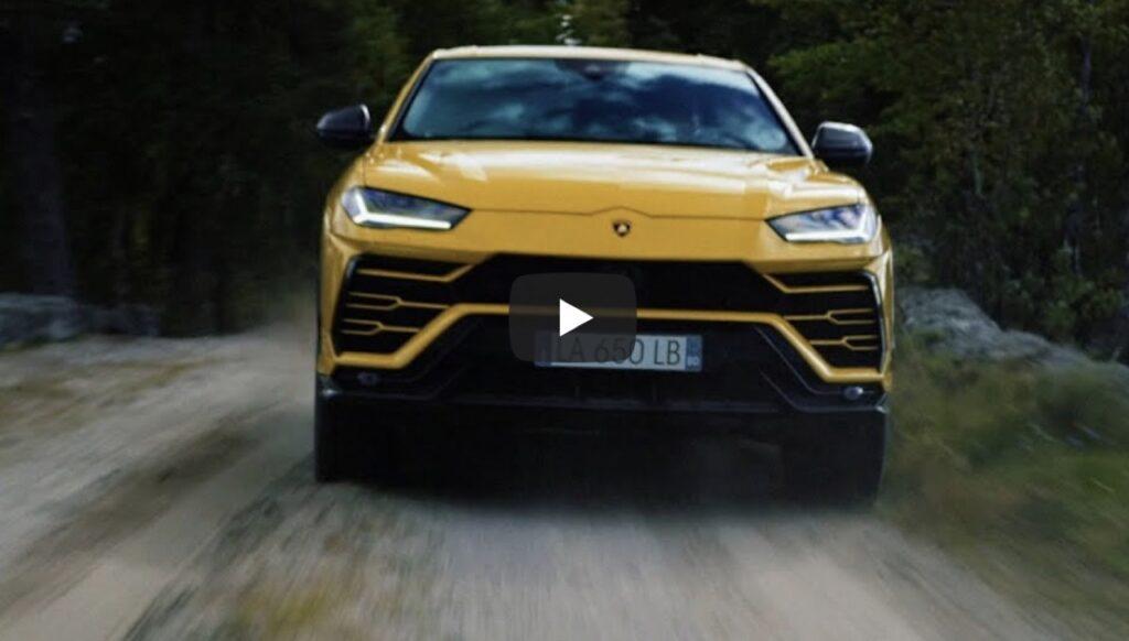 Lamborghini Urus: salti e drift nell'impervia foresta russa fino ad arrivare alla pista [VIDEO]