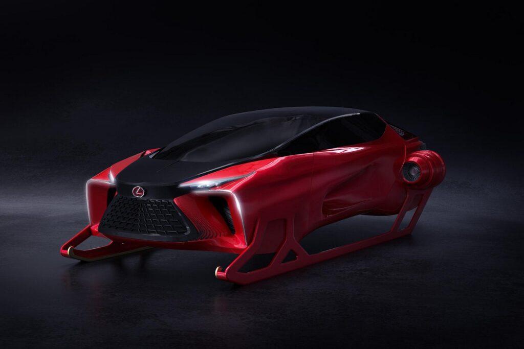 Lexus HX: una moderna e tecnologica slitta per Babbo Natale [FOTO]