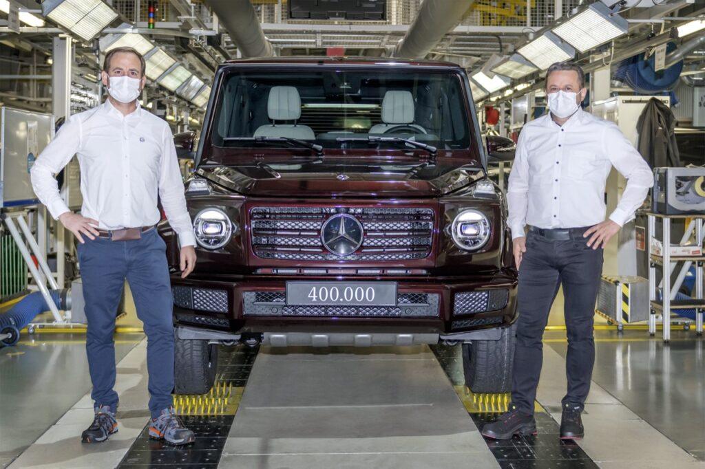 Mercedes Classe G: prodotto l'esemplare numero 400.000 del mitico fuoristrada