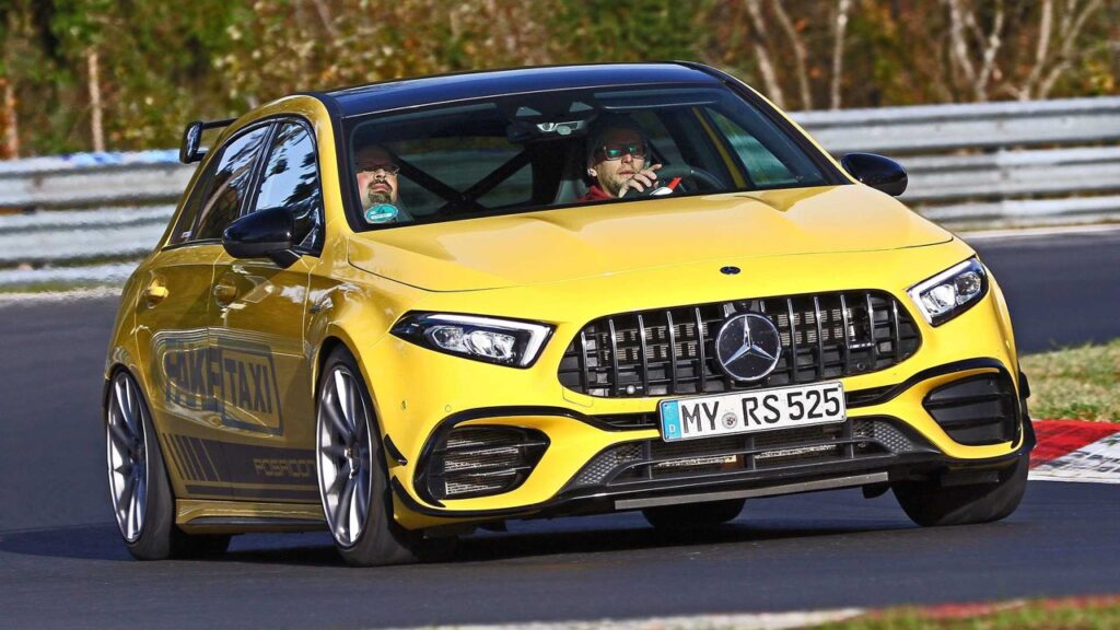 Mercedes A45 RS 52 by Posaidon