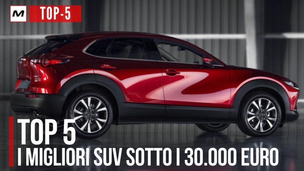 TOP 5 | i migliori SUV sotto i 30.000 euro del 2020 [VIDEO]