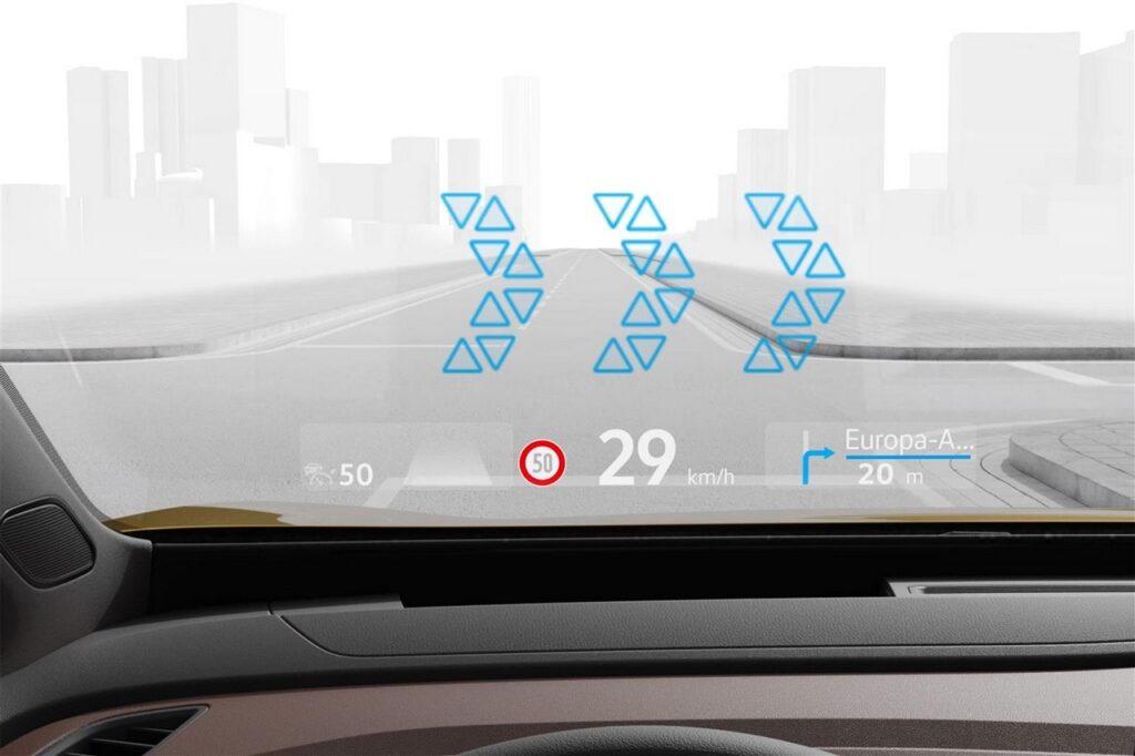 Volkswagen ID.3 e ID.4: debutto dell'head-up display a realtà aumentata [VIDEO]