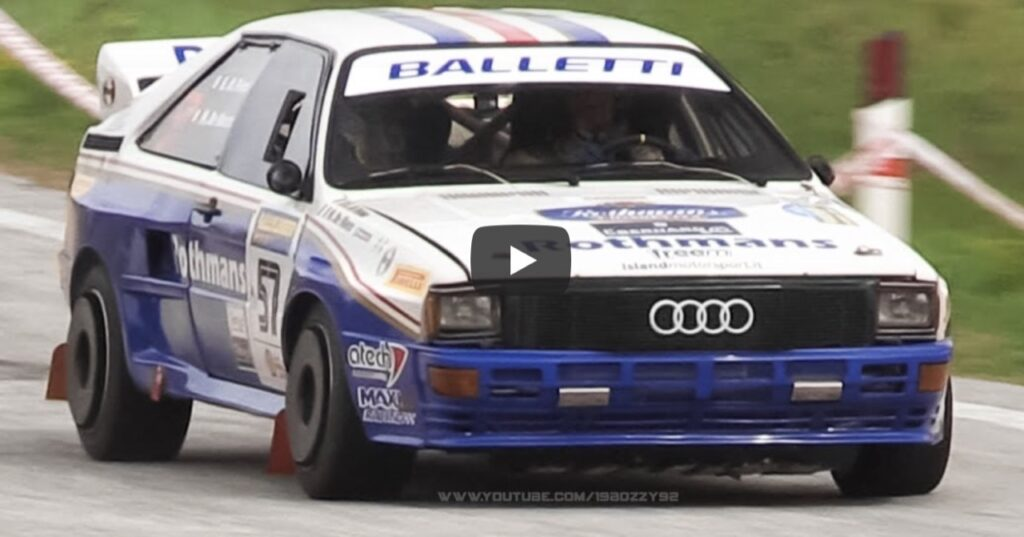 Audi Quattro: un VIDEO come tributo allo splendido SOUND del suo 5 cilindri turbo