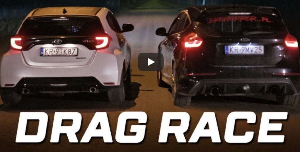 Toyota GR Yaris vs Ford Focus RS: basteranno i 350 CV della Focus per battere la giapponese? [VIDEO]
