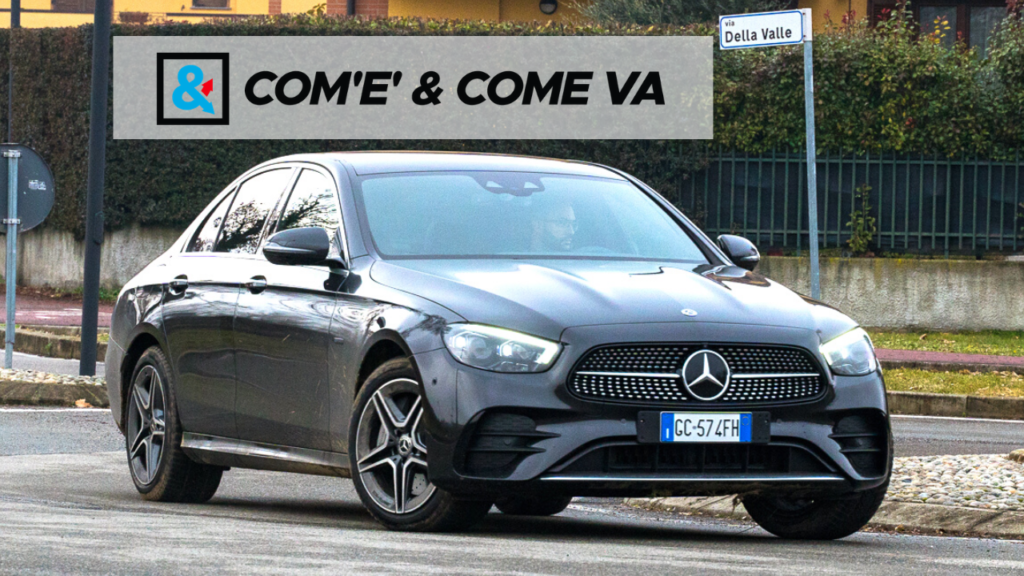 Mercedes Classe E 300 de 4MATIC EQ-Power 2021 | Com'è & Come va